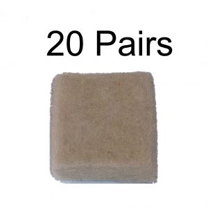 Thermaltronics DS-FW-1 Filter Wool (20 pairs) interchangeable for Metcal MX-DCF1F