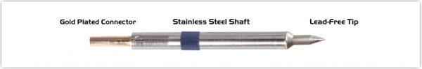 "Thermaltronics K60C004 Conical 0.40mm (0.016""), Micro Fine"