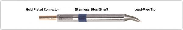 "Thermaltronics K60CB012 Chisel Bent 30deg 1.2mm (0.05"")"