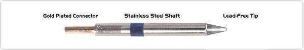 "Thermaltronics K60CH015 Chisel 30deg 1.50mm (0.06"")"
