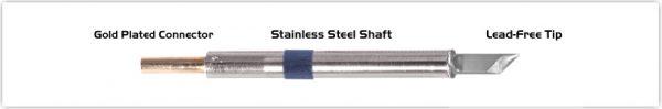 "Thermaltronics K60DS045 Knife 4.50mm (0.177"")"