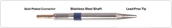 "Thermaltronics K60LR018 Chisel Long Reach 1.78mm (0.07"")"