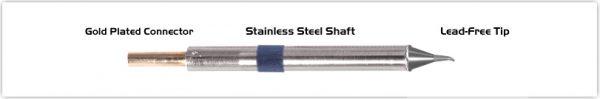 "Thermaltronics K60SB005 Bent Sharp 30deg 0.51mm (0.02"")"