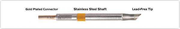 """Thermaltronics K75BV050 Bevel 45deg 5.00mm (0.20"""")"""