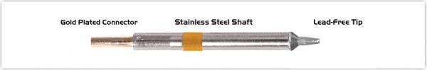 "Thermaltronics K75CH016 Chisel 30deg 1.78mm (0.07"")"