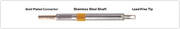 "Thermaltronics K75CH032A Chisel 30deg 3.20mm (0.13"")"