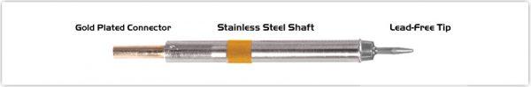 "Thermaltronics K75CS010 Conical Sharp 1.00mm (0.04"")"