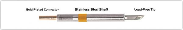 "Thermaltronics K75DS035 Knife 3.50mm (0.138"")"