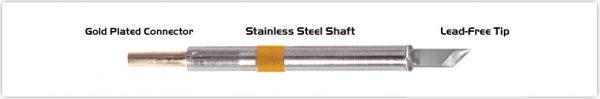 "Thermaltronics K75DS045 Knife 4.50mm (0.177"")"