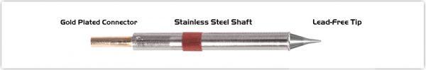 "Thermaltronics K80CS005 Conical Sharp  0.5mm (0.02"")"