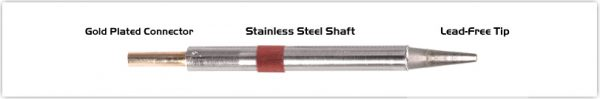 "Thermaltronics K80LR018 Chisel Long Reach 1.78mm (0.07"")"