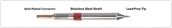 "Thermaltronics K80SB005 Bent Sharp 30deg 0.51mm (0.02"")"
