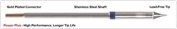 "Thermaltronics M6CS152H Conical Sharp 0.5mm (0.02""), Power Plus"