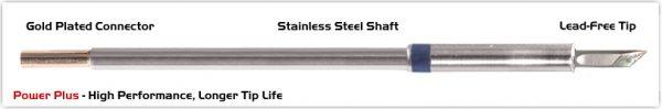 "Thermaltronics M6DS035H Knife 3.50mm (0.138""), Power Plus"