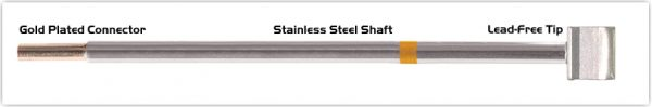 """Thermaltronics M7LB125 Blade Tip 10.41mm (0.41"""") interchangeable for Metcal SMTC-160"""