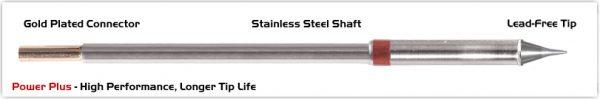 "Thermaltronics M8CS152H Conical Sharp 0.5mm (0.02""), Power Plus"