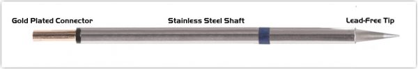 "Thermaltronics PM60CS155 Conical Sharp 0.5mm (0.02"")"