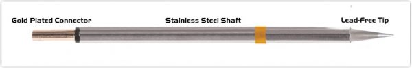 "Thermaltronics PM75CS155 Conical Sharp 0.5mm (0.02"")"