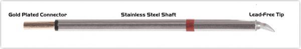 "Thermaltronics PM80CB225 Chisel Bent 30deg 1.78mm (0.07"")"