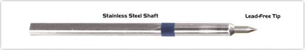 "Thermaltronics S60C001 Conical 0.10mm (0.004""), Micro Fine"