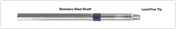 """Thermaltronics S60CH032 Chisel 90deg 3.20mm (0.13"""") interchangeable for Metcal SSC-613A"""