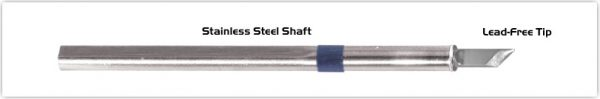 """Thermaltronics S60DS045 Knife 4.50mm (0.177"""") interchangeable for Metcal SSC-661A"""