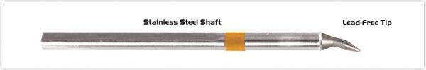 "Thermaltronics S75CB012 Chisel Bent 30deg 1.2mm (0.05"")"