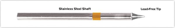 "Thermaltronics S75CH010 Chisel 30deg 1.0mm (0.04"") interchangeable for Metcal SSC-725A"