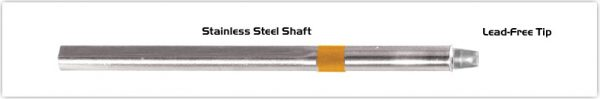 "Thermaltronics S75CH032 Chisel 90deg 3.20mm (0.13"") interchangeable for Metcal SSC-713A"