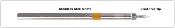 """Thermaltronics S75CS010 Conical Sharp 1.00mm (0.04"""") interchangeable for Metcal SSC-701A"""