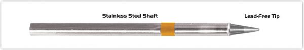 """Thermaltronics S75CS014 Conical Sharp 1.4mm (0.055"""") interchangeable for Metcal SSC-774A"""