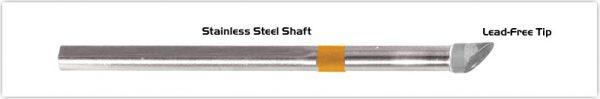 """Thermaltronics S75WV080 Hoof w/Dent 45deg 8.00mm (0.12"""")"""
