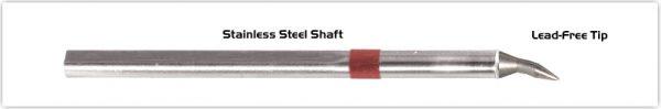 "Thermaltronics S80CB012 Chisel Bent 30deg 1.2mm (0.05"")"