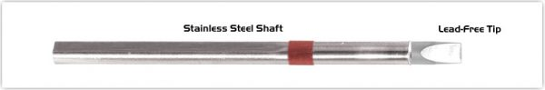"Thermaltronics S80CH050 Chisel Extra Large 5.0mm (0.20"")  interchangeable for Metcal SSC-817A"
