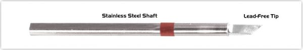 """Thermaltronics S80DS061 Knife 4.50mm (0.177""""), Increased Tin Area 6.1mm  (0.24"""") interchangeable for Metcal SSC-873A"""