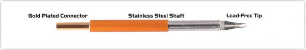"Thermaltronics T70CH024 Chisel 30deg 2.40mm (0.09"")"