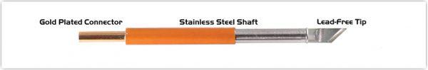 """Thermaltronics T70K047 Knife 4.70mm (0.185"""")"""
