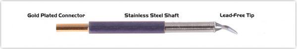 "Thermaltronics TM60CB226 Chisel Bent 30deg 1.5mm (0.06"")"