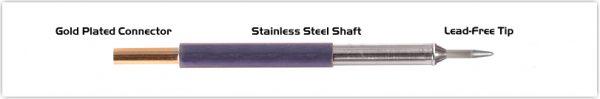 "Thermaltronics TM60CS151 Conical Sharp 1.0mm (0.04"")"