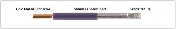"""Thermaltronics TM60LC650 Chisel Extra Large 5.0mm (0.20"""")"""