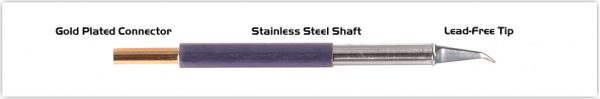 "Thermaltronics TM60MD575 Hook Long 30deg Fine 0.51mm (0.02"")"