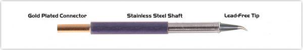 "Thermaltronics TM60SB276 Bent Sharp 30deg 0.5mm (0.02"")"