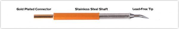 "Thermaltronics TM70B325 Bent Sharp 30deg 0.4mm (0.016"")"