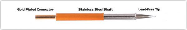 "Thermaltronics TM70CS155 Conical Sharp 0.5mm (0.02"")"