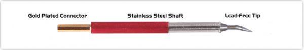 "Thermaltronics TM80B325 Bent Sharp 30deg 0.4mm (0.016"")"