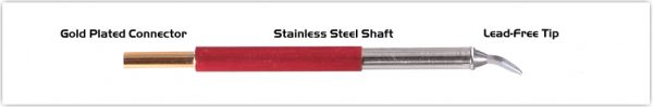 "Thermaltronics TM80CB226 Chisel Bent 30deg 1.5mm (0.06"")"