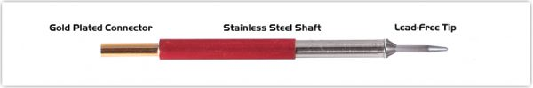 "Thermaltronics TM80CS154 Conical Sharp 1.0mm (0.04"")"