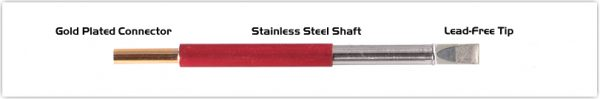 """Thermaltronics TM80LC650 Chisel Extra Large 5.0mm (0.20"""")"""