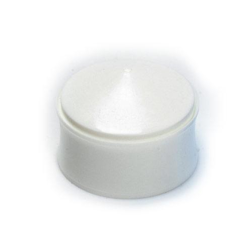 Piston 3cc Wiper White - 50 pack