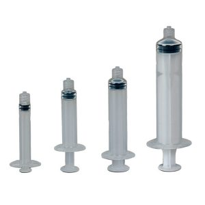 Manual Syringe Assembly - Graduated 3CC - 1000 pack